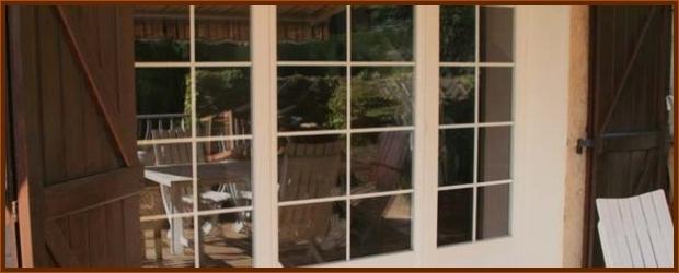 instalation d'une porte fenêtre