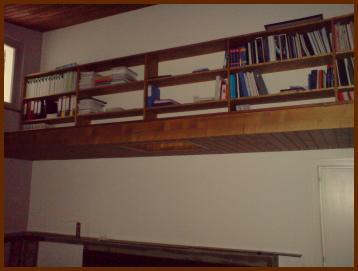 Bibliothèque style mezanine
